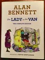 'THE LADY IN THE VAN':Alan BENNETT/ David GENTLEMAN: {The Complete Edition}:4th.