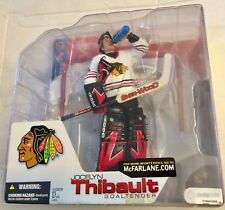 McFarlane NHL Series 4 JOCELYN THIBAULT Chicago BLACKHAWKS (White Uniform)