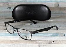 RAY BAN RX6238 2509 Shiny Black Demo Lens 55 mm Unisex Eyeglasses