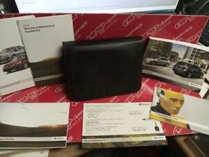 2014 subaru impreza owners manual with case
