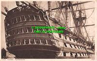 R536590 Portsmouth. H. M. S. Victory. Postcard