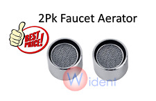 2Pk Standard Faucet Tap Water Aerator Chrome Nozzle Sprayer Filter