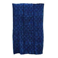 Bogolan Bleu appelé indigo