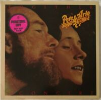 """PETE SEEGER, ARLO GUTHRIE """"Together In Concert"""" 1975 Double PROMO LP Near Mint"""