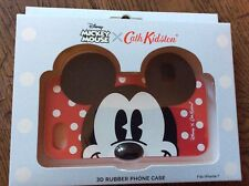 Nuevo Y En Caja Nuevo Cath Kidston Disney Mickey Mouse 3D goma teléfono caso iPhone 7