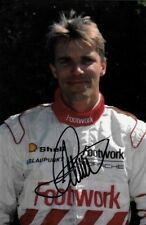 Stefan Johansson SIGNED  Footwork-Porsche Portrait , 1991 Grand Prix Season