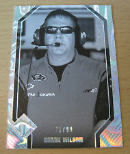 2012 PRESS PASS TOTAL MEMORABILIA B/W SHANE WILSON 71/99 NASCAR SPRINT CHILDRESS