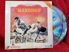 Mandingo LaserDisc 1975 Movie 1982 Double Laser Disc LD