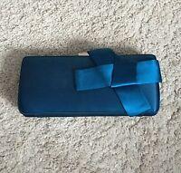 Ted Baker Regal Blue Evening Purse Clutch Hand Bag / New rrp.£60