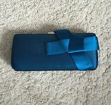 TED Baker Regal blu da sera borsa frizione borsa a mano/Nuovo RRP. £ 60