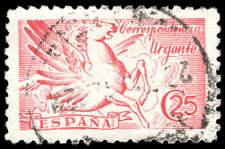 Scott # E20 - 1942 - ' Pegasus; without imprint '