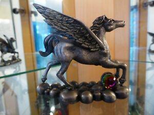 Myth & Magic - 3060 The Spirited Pegasus - RARE Tudor Mint Flying Horse Unicorn