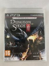 Ps3 Dungeon Siege III 3 Limited Edition (2011), UK PAL, NEW & FACTORY SEALED