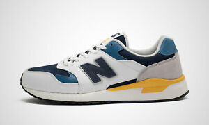New Balance ML570ATS weiß/navy, Herren Sneaker, NEU im Karton