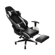 Luxury Executive Racing Gaming Office Chair Lift Swivel Computer Desk Chairs UK