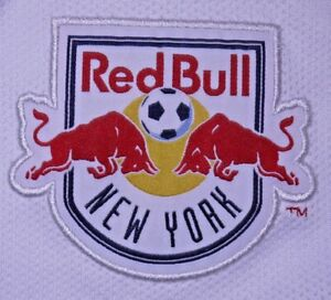 Mens GUC White Adidas MLS Red Bull New York FC Jersey size S