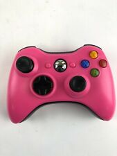 Xbox 360 Hot Pink Controller Wireless Custom Shell