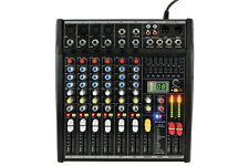 CITTRONIC CSL-8 COMPACT MIXER WITH DSP EFFECTS AND 7-BAND GRAPHIC EQ