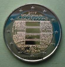 0338b050a6 Andorra 2 EURO MONETA COMMEMORATIVA 2017 inno euro moneta Commemorative Coin