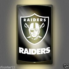 Oakland Raiders NFL Licensed MotiGlow™ Light Up Sign - Free USA shipping!