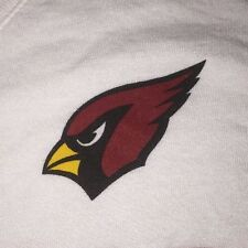 WOMEN'S Nike Arizona Cardinals NFL Team Apparel V-Neck White Shirt XL $34