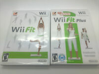 Wii Fit & Wii Fit Plus (Nintendo Wii) Bundle FREE SHIPPING!