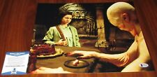 Ivana Baquero & Doug Jones Signed 11x14 Pan's Labyrinth Ofelia BAS Beckett