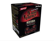 5 Hour Energy Shot Extra Strength Berry Flavor 24 Ct 1.93 oz Sugar Free