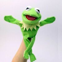 12'' Kermit The Frog The Muppet Show Jim Henson Plush Hand Puppet Toy Xmas Gift