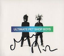"PET Shop Boys AUTOGRAFI SIGNED CD booklet ""Ultimate PSB"""