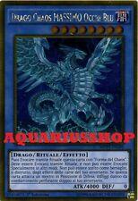 Yu-Gi-Oh Drago Chaos MASSIMO Occhi Blu MVP1-ITG04 Ultra GOLD ITA MAX Dragon
