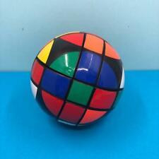 Vintage Rubiks Cube Magic Ball Sphere Circle Puzzle Brain Teaser Toy