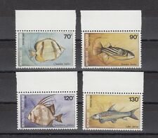 TIMBRE STAMP  4  TOGO Y&T#1220-23 POISSON FISH  NEUF**/MNH-MINT 1987 ~A52