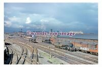 gw0223 - British Railway Engines 60885 & 60930 at Doncaster 1958 photograph 6x4