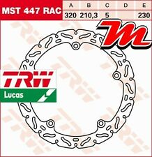 Disque de frein Avant TRW Lucas MST 447 RAC Honda NC 700 XA ABS, XD-DCT RC72 12-