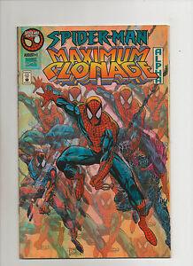 Spider-Man Maximum Clonage Lot Of 6 - Chromium Covers - (Grade 9.2) 1995