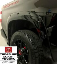 NEW TOYOTA TUNDRA 14-19 BLACK CODE 218 POCKET FENDER FLARES BLACK RIVETS 4 PC