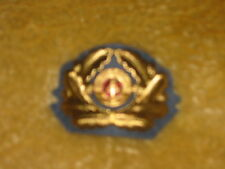 EAST GERMAN CUSTOM GENERALS SIDE CAP INSIGNIA