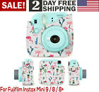 For Fujifilm Instax 9 8 8 Groovy Camera Storage Case Protective Cover PU Lea...