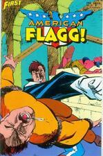 American Flagg! # 37 (Mark Badger, Norm Breyfogle) (USA, 1987)