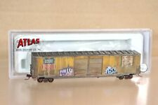 ATLAS 50 000 351 N WEATHERED UNION PACIFIC 60' AUTO PARTS BOX CAR 960573 nv