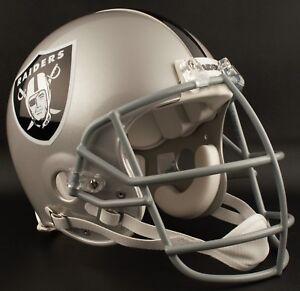 BO JACKSON Edition OAKLAND RAIDERS Riddell AUTHENTIC Football Helmet NFL