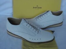 NEW Mens JOHN LOBB  Winner Chalk White Nubuck Sneakers Racing Shoes UK 8 $1050