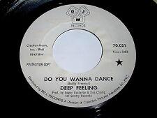 Deep Feeling: Do You Wanna Dance / The Day My Lady Cried 45