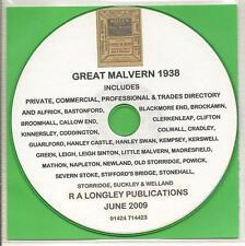 Great Malvern 1938 [ Kelly's directorio ] Cd En Formato Pdf