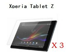 3x Glossy Screen Film Protector Protection Shield Guard for Sony Xperia Tablet Z