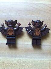 Lego 9468 Brown Bat Minifigures Lot Of 2