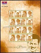1999 Malaysia Artist Supreme P. Ramlee 16v Stamps Sheetlet Mint NH