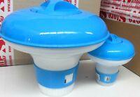 Dosatore dispenser x piscina di cloro granulare e pastiglie nuovo varie misure