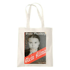Greta Thunberg Mein Klima 5oz Canvas Shopper